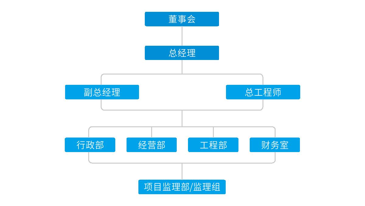 四川国际工程ld乐动官网有限公司组织架构