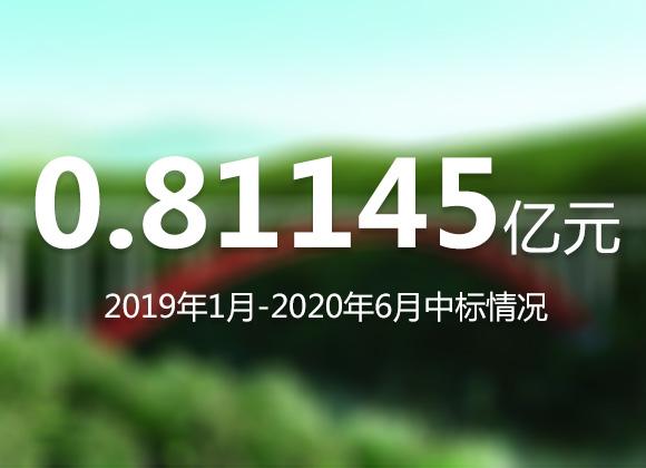 四川国际工程ld乐动官网有限公司2019年1月-2020年6月新中标项目一览表